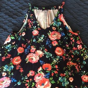 First Love Floral Blouse 2x